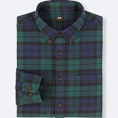 Kemeja Panjang Blue Oxford Simple Ox1 s casual shirts flannel uniqlo us