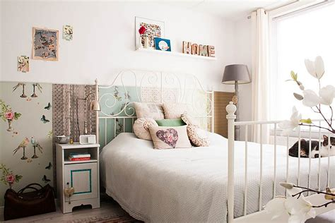 small bedroom ideas for teenage using white shabby chic 50 delightfully stylish and soothing shabby chic bedrooms
