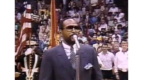 Marvin Gayes National Anthem by Sportsblog The American Athlete Remembering