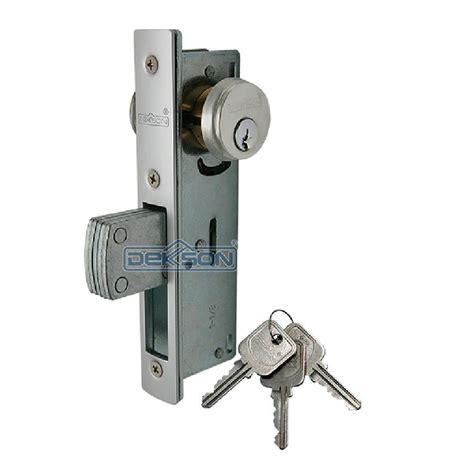 Kunci Pintu Dekson 8128 Panjangpendek Pintu Alumunium jual aluminium door lock kc 8128 dekkson kunci pintu