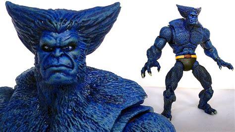 l a beast figure beast marvel legends custom figure