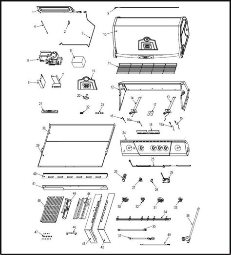 Vermont Castings Gas Fireplace Parts by Vermont Castings Bbq Grill Vcs501ssbi Vcs501ssbi The