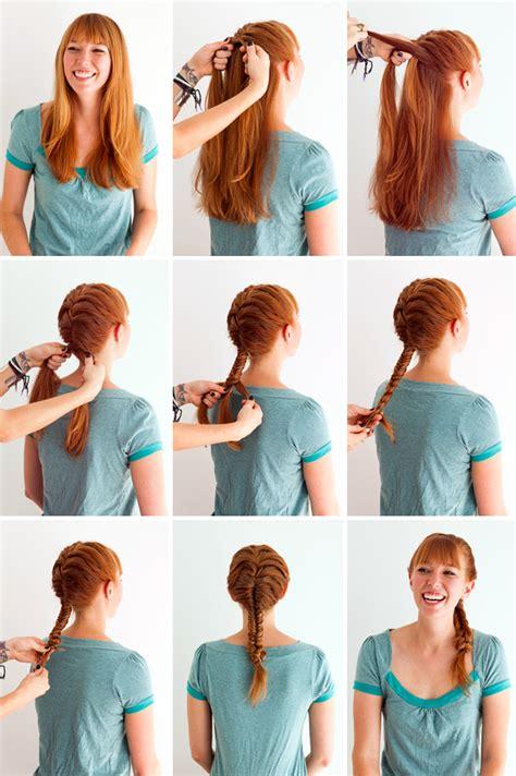 different braid step by step meta hair hacks 3 ways to style braids in braids brit co