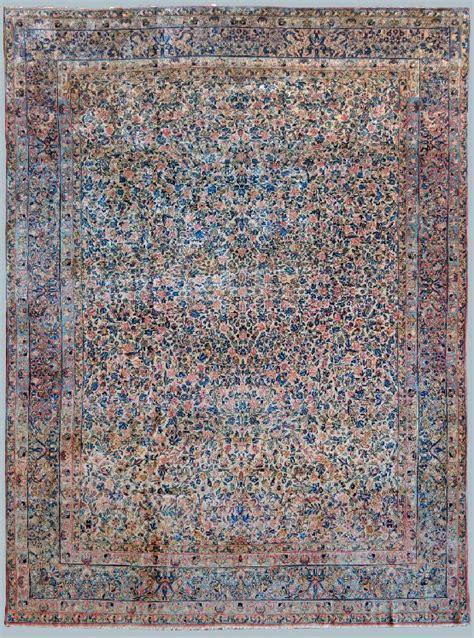 tappeti persiani kirman kirman laver cm 276 x 362 morandi tappeti