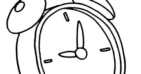 Jam Weker Muslimah mewarnai gambar mewarnai gambar sketsa jam bekker 1