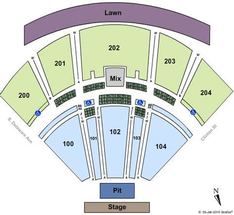 Bb T Box Office by Camden Tickets Seating Chart Bb T Pavilion