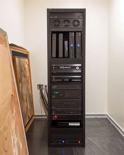 home technology equipment rack  houses  alike