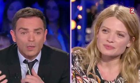melanie thierry on est pas couche video on n est pas couch 233 m 233 lanie thierry et les