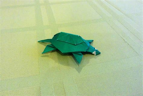 Origami Turtles - origami turtle by kazikasaurus on deviantart