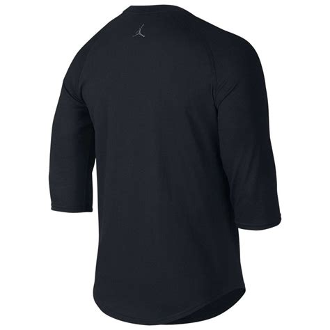 Raglan Nike Air Harmony Merch nike s air raglan top 3 4 sleeve black crew neck t shirt 688991 ebay