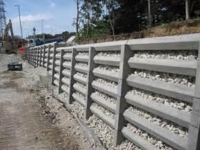 andacrib concrete crib retaining wall system phi
