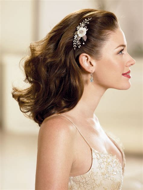 hair styles combed down wedding hairstyles the bridal loft