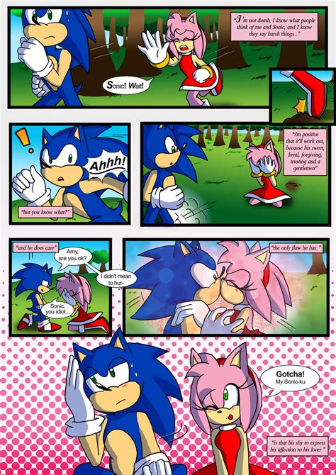 And Their Comics sonamy favourites by d man611 on deviantart