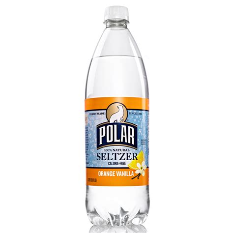 Polar Seltzer Orange Vanilla 20oz   Prestige Services   Vending Machines   Bottled Water   Micro