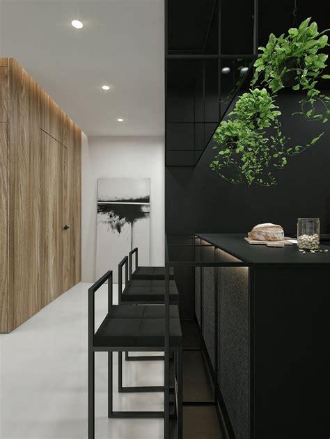 black and white interior design black and white interior design ideas modern apartment by