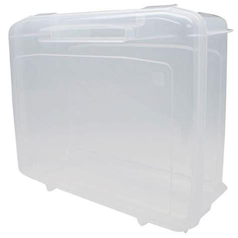 iris storage containers iris snap top plastic storage large in plastic