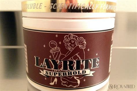 Pomade Waterbased Aroma Melon layrite hold water based pomade review