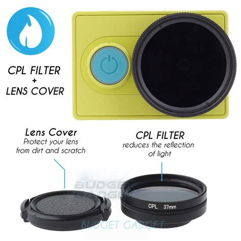 Cpl Filter Lens 37mm For Xiaomi Yi by Jual Cpl Filter Lens 37mm For Xiaomi Yi Di Lapak Atc Murah