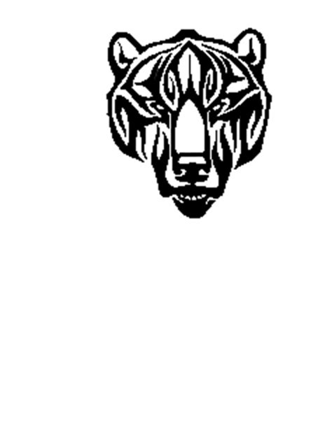 tribal bear head tattoo tattoos and designs page 249