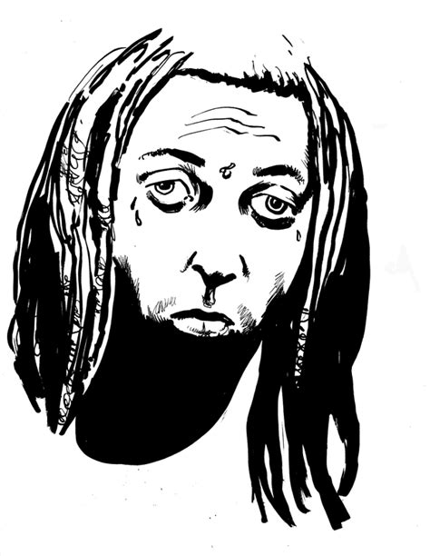 Lil Wayne Drawings Coloring Pages Lil Wayne Coloring Pages