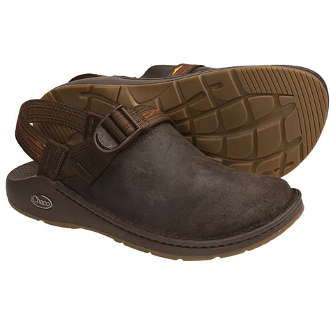 leather clogs for chaco toecoop leather clogs for 4277w save 31