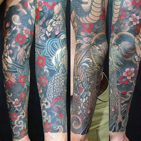 japanese style tattoos for men 100 rooster designs for of ink