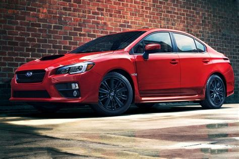 subaru car 2015 used 2015 subaru wrx sedan pricing features edmunds