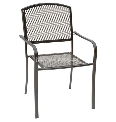 cheap metal mesh outdoor dining round table and chairs set