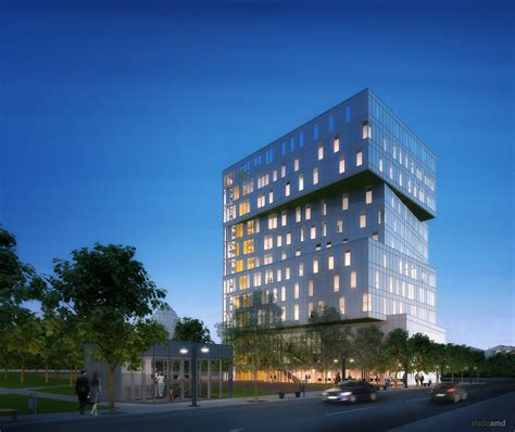 Evening Mba Unc by Unc To Construct Iconic Building In Center City