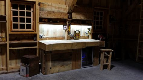 work bench light lighting your garage or workshop inspiredled blog