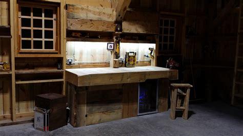 Under Kitchen Cabinet Led Lighting by Lighting Your Garage Or Workshop Inspiredled Blog