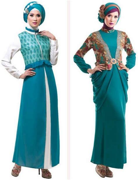 baju muslim gamis model terbaru contoh model baju muslim terbaru 10 model baju gamis muslim pesta terbaru 2015