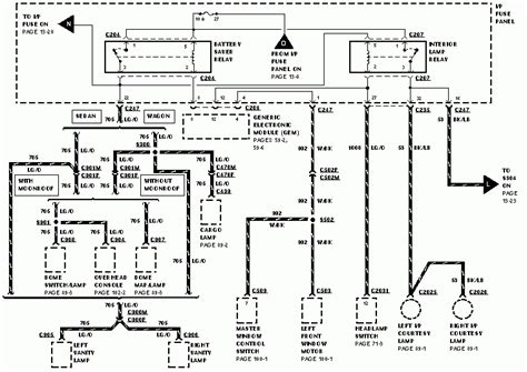2005 ford taurus wiring diagram wiring diagram and