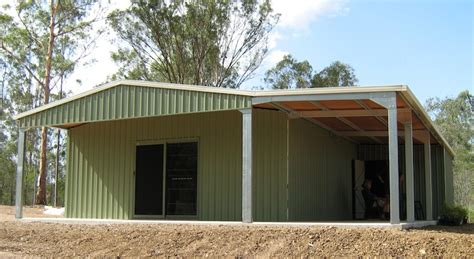 Awning Shed by Awning 2 Shed Constructions Qld Pty Ltd