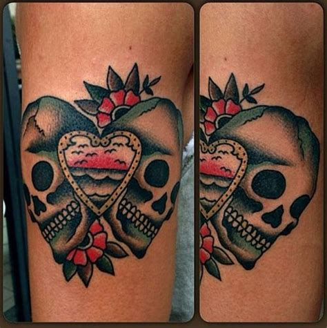 tattoo couple old school 8 best images about tattoo traditional skull on pinterest
