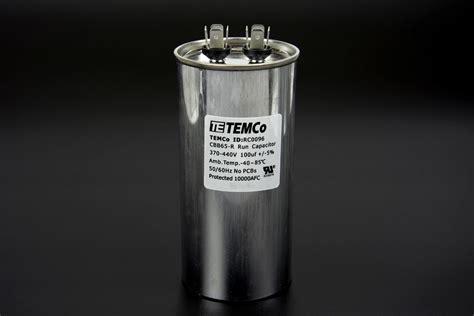 run capacitor 440 vac temco 100 mfd uf run capacitor 440 vac volts ac motor hvac 100 uf ebay