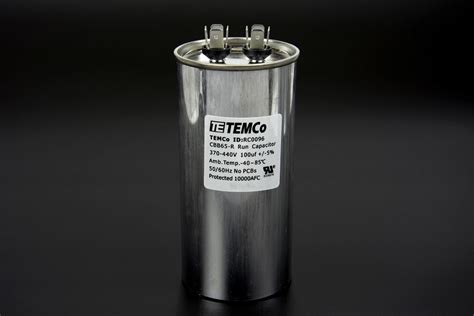 temco capacitor review temco 100 mfd uf run capacitor 440 vac volts ac motor hvac 100 uf ebay