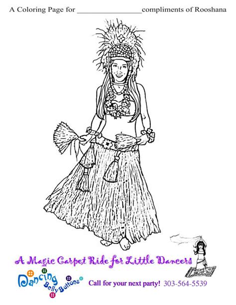 Hula Minion Coloring Pages Coloring Pages Hula Coloring Page