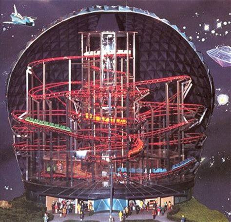E Visor Space Coaster Ep europa park un parc qui ne manque pas d espace
