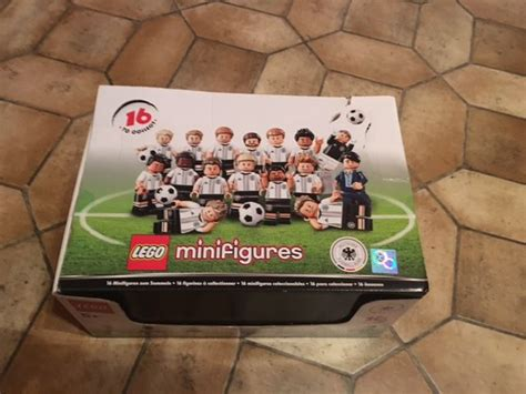 Lego 71014 Minifigure Germany National Team Dfb Series Limited Edition collectible mini figures 71014 lego mini figures dfb series german national team