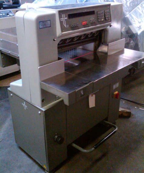 Polar Paper Cutter Parts by Heidelberg Polar 55 Em Paper Cutter