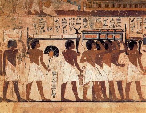 imagenes de obras egipcias pintura egipcia
