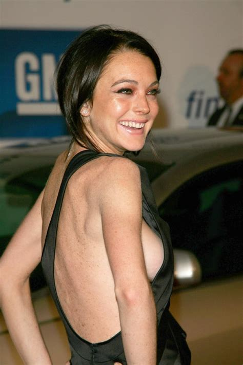 Lindsay Lohan Slip by The Slips May 2011
