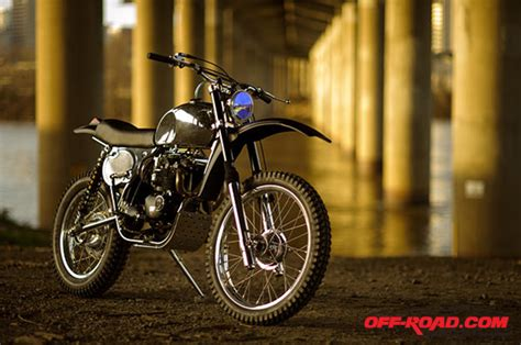 triumph motocross bike the most beautiful triumph dirt bike built road com