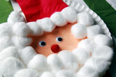 Santa Paper Crafts - family after kid craft paper plate santa