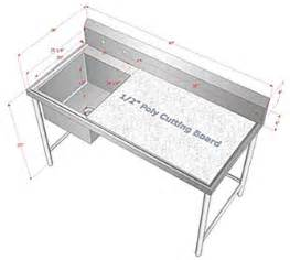 customized sinks dishtables restaurant equipment