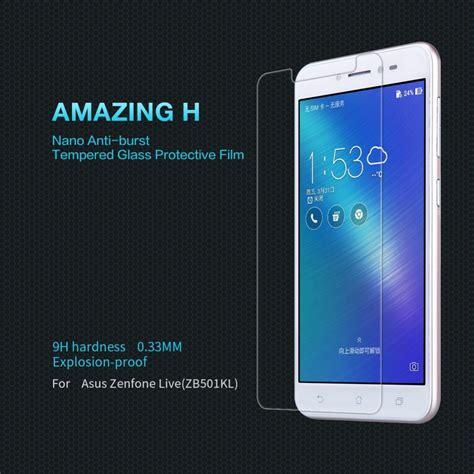 Shining Chrome Zenfone Live Zb501kl asus zenfone live zb501kl panssarilasi nillkin amazing h