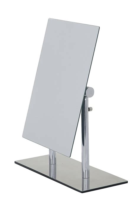 bathroom mirror stand wenko free standing cosmetic mirror pinerolo 3656420100