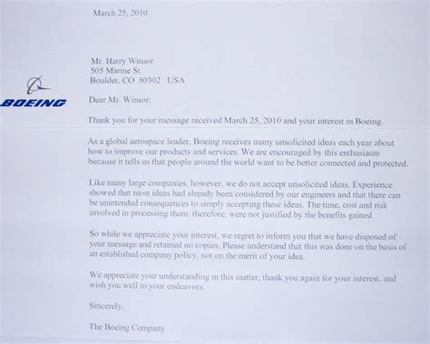 boeing cover letter conversations arun rajagopal