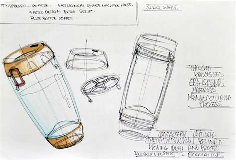 sketch design industrial design in australia dean ovens espracio